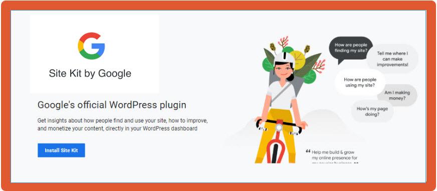 Plugin Site Kit de Google