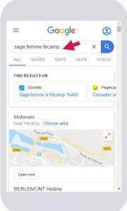 serp rechercher plus de resultat sur mobile