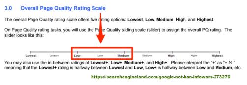 Comment les quality raters évaluent les contenus