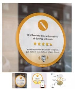 Stickers Nfc D'avis