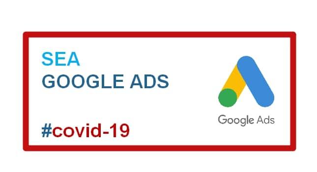 Google Ads par temps de Covid-19