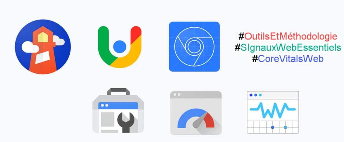 les outils google pour mesurer les Signaux Web Essentiels