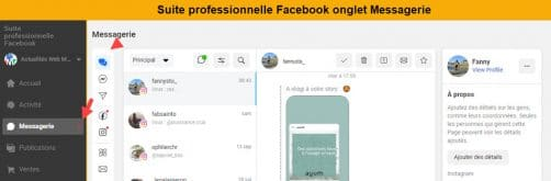 Messagerie suite professionnelle