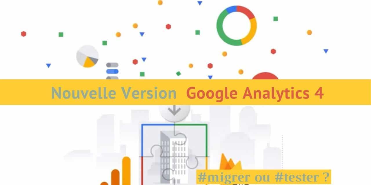 Google analytics G4 un nouveau modèle de données d'audience