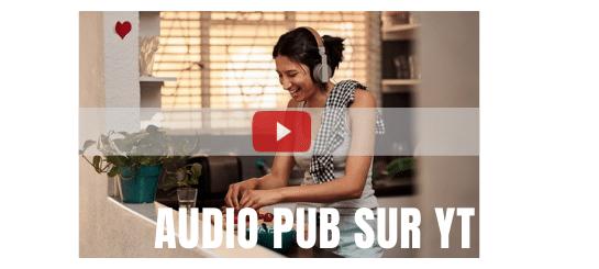 Google lance un nouveau format : la publicité  audio !