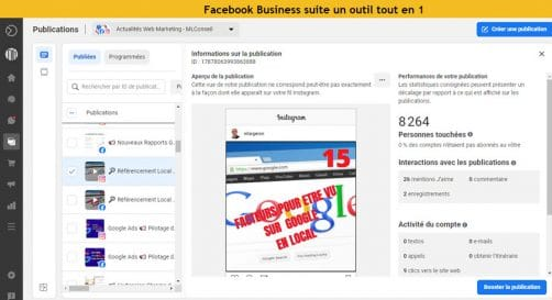 Business suite Facebook