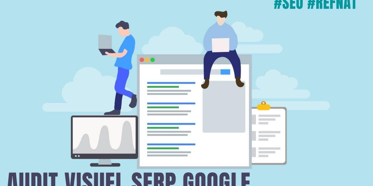 Audit Seo visuel Serp Google
