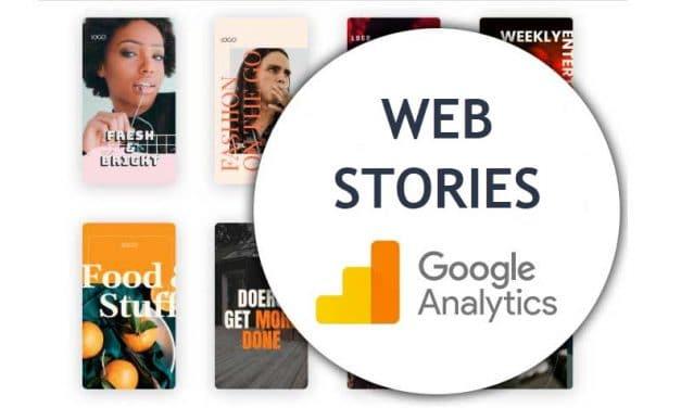 Suivi des Web Stories dans Google analytics