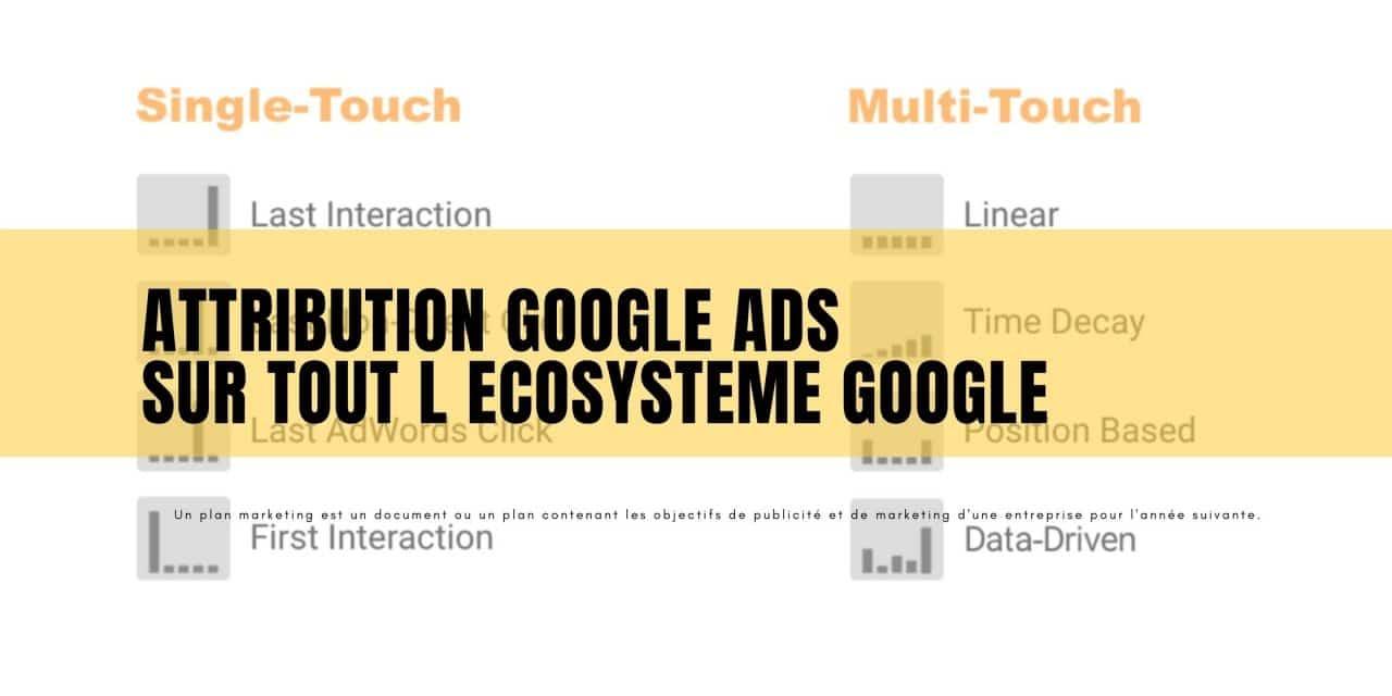 L'attribution Google ads s'unifie sur tous ses réseaux