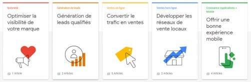 Maitriser la publicité digitale et ses Objectifs commerciaux de campagne