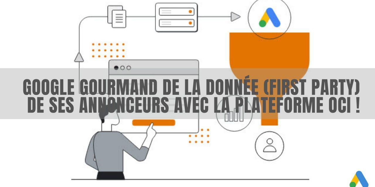 Importer données de conversions offline dans Google Ads avec OCI
