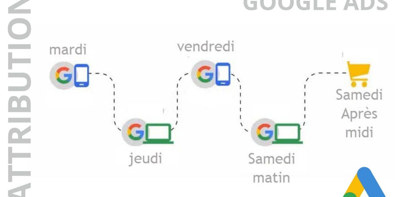Attribution dans Google Ads : fonctionnalité prêt à l'emploi !