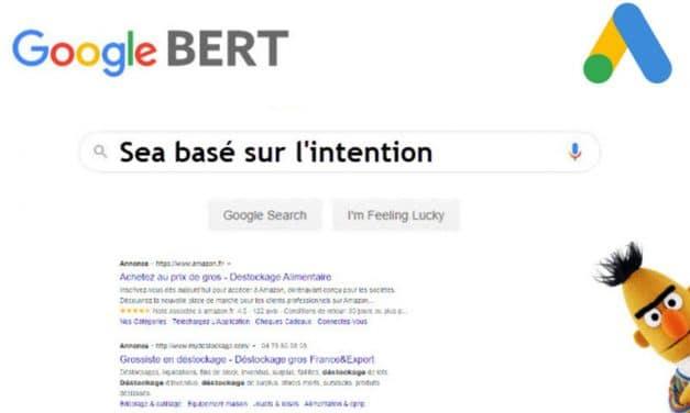 Pertinence des correspondances de mots clés dans google ads